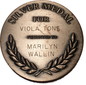 Silver Medal Viola Tone