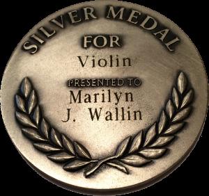 Silver Medal Violin