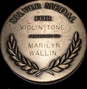 Silver Medal Violin Tone